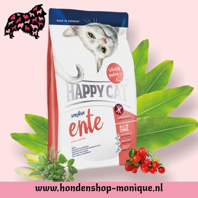 Happy Cat Sensitive Ente 4  kg.