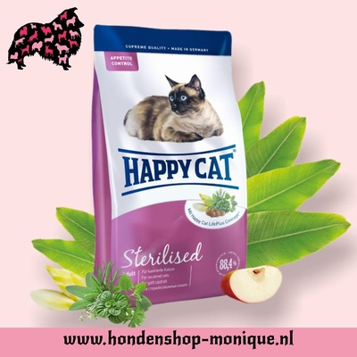 Happy Cat Adult Sterillised  10 kg.