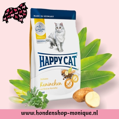 Happy Cat Sensitive Grainfrei Kaninchen 1,4 kg.
