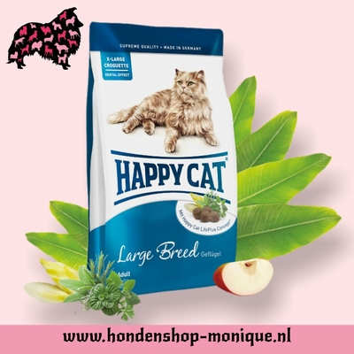 Happy Cat Adult Large-Breed 4 kg.