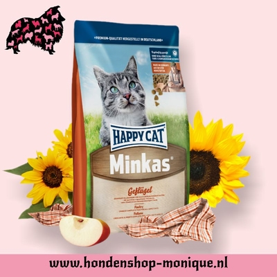 Happy Cat Minkas Mix Geflugel 10 kg.