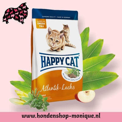 Happy Cat Supreme Adult  Atlantik-Lachs 10 kg.