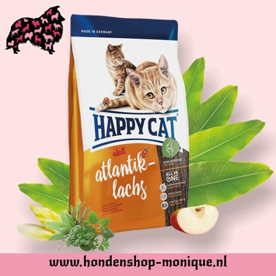 Happy Cat Supreme Indoor Atlantik-Lachs 10 kg.