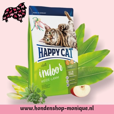 Happy Cat Supreme Indoor Weide-Lamm 4  kg.