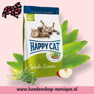 Happy Cat Supreme Adult Weide-Lamm 10  kg.