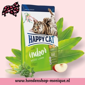Happy Cat Supreme Indoor Weide-Lamm 10  kg.