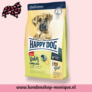 Happy dog baby lamb and rice 1 kg.