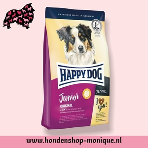 Happy dog Junior Original 4 kg.